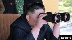 Le dirigeant nord coréen, Kim Jong Un.