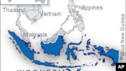 印尼位置圖