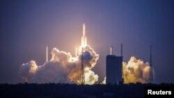 Vụ phóng tên lửa Trường Chinh 5 Y2 của Trung Quốc hôm 2/7.
