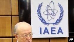 Kepala Badan Energi Atom Internasional Yukiya Amano