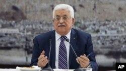 마흐무드 압바스 팔레스타인 자치정부 수반 (자료사진0
