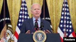 Джо Байден выступает в Белом доме, 3 августа 2021 года