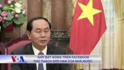Giới bất đồng trên Facebook thử thách giới hạn của nhà nước