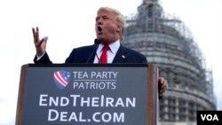جمهور رئیس ټرمپ وایي ایران بدې لوبې شروع کړي دي