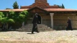 "Се чистат фреските во ""Света Богородица Перивлепта"" во Охрид"