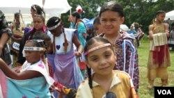 Девочки из племени вампаноагов. Фото Олегa Сулькинa
