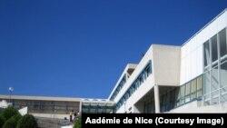 Le lycée de Tocqueville, à Grasse, dans le sud de la France.