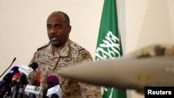 Saudiya armiyasi matbuot kotibi, general Ahmad al-Asiriyning aytishicha, koalitsiya Yaman qurolli kuchlarini havodan qo'llashga va uni oyoqqa turg'izishda yordam berishda davom etadi.