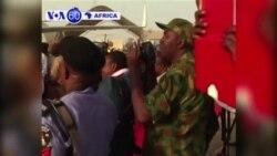 Perezida Muhammadu Buhari yasubiye muri Nijeriya nyuma y'amezi hafi abiri yivuza m'Ubwongereza