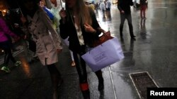 Las ventas minoristas en EE.UU. aumentaron un leve 0,2% en noviembre.