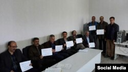 تحصن معلمان در مدرسه «تکلو» کرمانشاه
