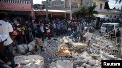 ہیٹی میں زلزلے کے بعد کے مناظر