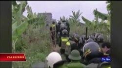Truyền hình VOA 13/7/18: Y án tử hình nông dân nổ súng chống cưỡng chế đất