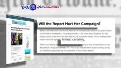Manchetes Americanas 26 Maio: Clinton poderá ser prejudicada por uso de servidor privado