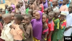 FILE - DDR officials say a majority of the 155 militants who arrived this week in Meri, Cameroon, July 29, 2021, are wives of the fighters and their children. (Moki Edwin Kindzeka/VOA)