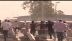 2014-01-09 美國之音視頻新聞: 人權觀察要求柬埔寨當局釋放罷工工人