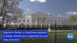 Casa Branca aplaude a absolvição de Trump