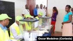 Votação em São Tomé e Príncipe
