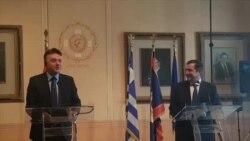 Прв официјален состанок на градоначалниците на Скопје и Атина