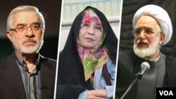 Mir Hüseyn Musəvi, Həsən Kərrubi və Zəhra Rahnavərd