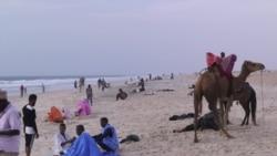 Nouakchott sous la menace de la montée de l'Atlantique