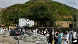 파키스탄 북서부 마을의 폭탄테러 현장 (자료사진)