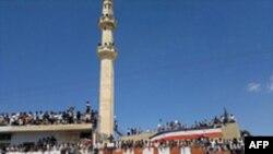 Demonstracije protiv predsednika Bašara al-Asada u Deri.
