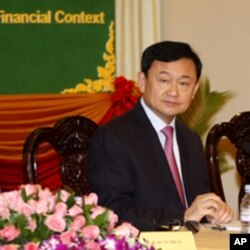 Thaksin Shinawatra, former Thai prime minister (File Photo - September 17, 2011).