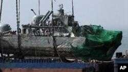 'شمالی کوریا کے 7 ماہی گیروں کی جان بچائی'