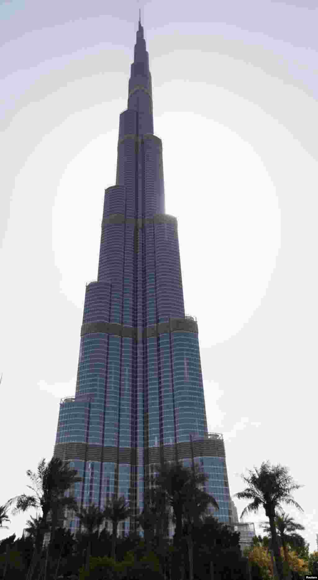دنیا کی بلند ترین عمارت برج خلیفہ