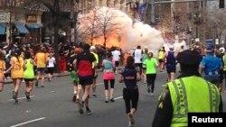 지난 4월 발생한 보스턴 테러 사건 현장.