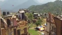 尼泊爾老人被埋八天後獲救