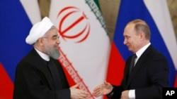 Хассан Рухани и Владимир Путин