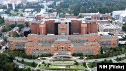 美國國家衛生院NIH總部大樓。