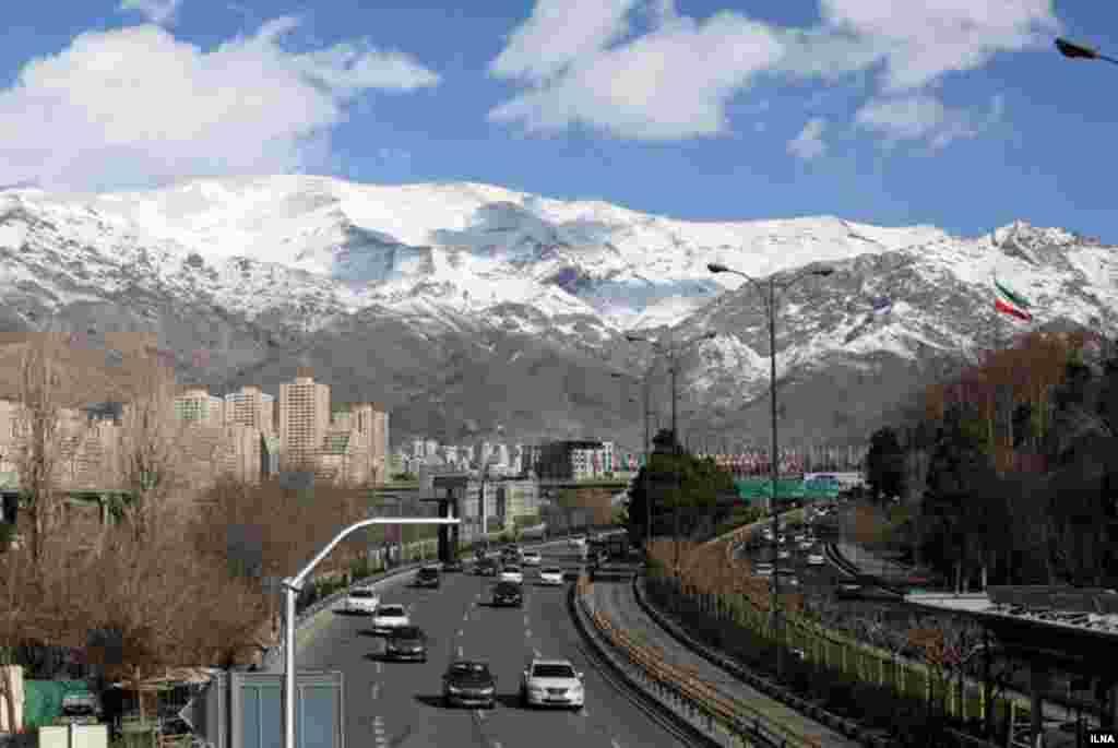 گاهی هم هوای تهران خوب و پاک می شود. عکس: محمدرضا جنیدی فرد