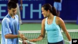Đoković i Ivanović na Hopman kupu 2006.