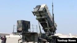 Передвижная ракетная установка комплекса Patriot