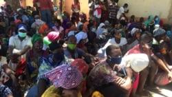 Mulheres que fugiram aos insurgentes em Cabo Delgado narram violência no cativeiro - 12:00