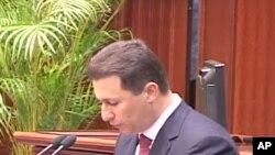 Премиерот на Македонија даде отчет на работата за првите сто дена на новата влада