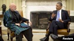 Karzai ve Obama