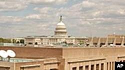 國際媒體美國之音大樓 側後方是國會