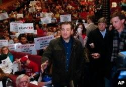 Wisconsin đem đến cơ hội tốt nhất cho ứng viên Ted Cruz để tái khẳng định ông thích hợp với cuộc đua
