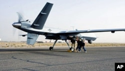 U.S. attacks in Afghanistan by Air Force drones like the MQ-9 Reaper have been cut in half to prevent the civilian casualties that can turn into Taliban propaganda victories.