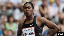 Atlet Afrika Selatan Caster Semenya, yang merupakan salah satu masalah yang mengenai Federasi Atletik Afrika Selatan. (Foto: Dok)