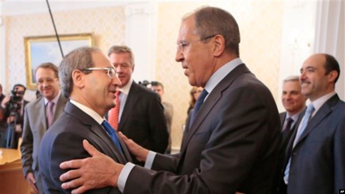 موضوع جالب برای کنفرانس زبان روسیه: موافقت سوریه با کنفرانس صلح