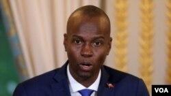 Jovenel Moise, Prezidan Repiblik d Ayiti (Foto Achiv).