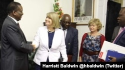 Britain's Minister of State for Africa, Harriet Baldwin, held a meeting on Friday with President Emmerson Mnangagwa.