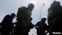 埃及防暴警察出動(資料照片)