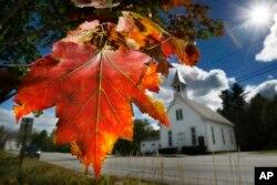 ریاست مین کا موسم خزاں۔ فائل فوٹو