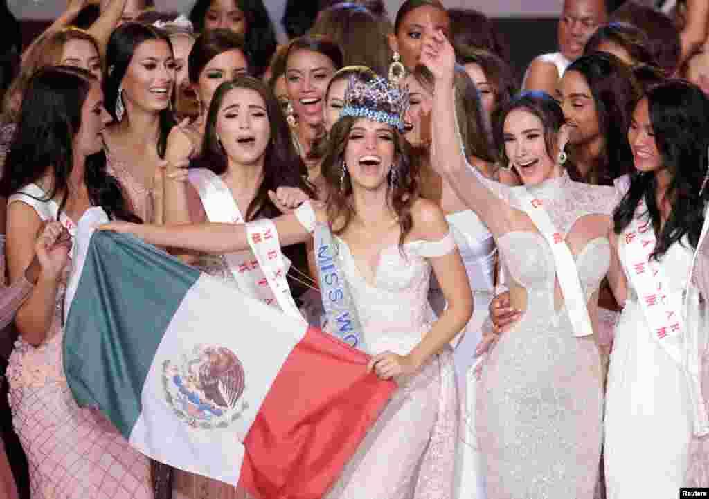«ونسا پونز دلئون» ۲۶ ساله از مکزیک امسال برنده تاج دختر شایسته جهان شد که این مسابقات در چین برگزار شد.